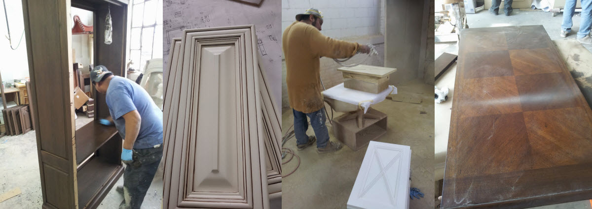 Cabinet Staining & Refinishing